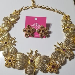 Sassy Jones - Hollidazzle Necklace and Earrings